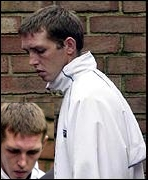 Damien Daley - the prisoner who reported Stone's 'confession'.