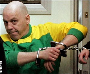 Michael Stone - Convicted of Murder and given 3 life sentences.